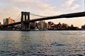 Brooklyn Bridge And Brooklyn Skyline Landscape