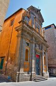 Church of St. Maria del Suffragio. Viterbo. Lazio. Italy.