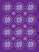 Garden Trellis In Purple