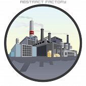 stock photo of reactor  - Illustration of Abstract Factory - JPG