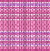 Seamless Pattern. Knit Texture. Fabric Color Tracery Background