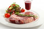 Rib Eye Steak with Thyme