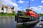 The Daniel McAllister tug