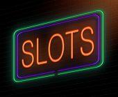 Slots Concept.
