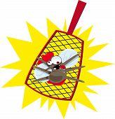 Mosquito flyswatter