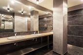 Public Bathroom Interior