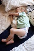 A Little Boy Asleep