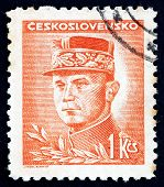 Postage Stamp Czechoslovakia 1947 General Milan Stefanik