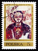 Postage Stamp Poland 1971 Christ Protecting Nubia
