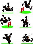 Funny Equitation man