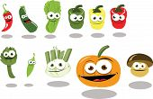 Funny Vegetables
