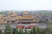 Panorama Looking On Forbidden City
