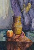 Still Life: Flower In Jug