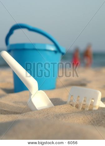 Bucket And Spade poster