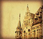 landmark of Brussels poster