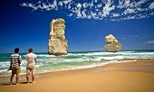 PORT CAMPBELL, AUSTRALIA - JANUARY 31: The Twelve Apostles at Port Campbell National Park are an Aus