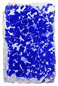stock photo of lapis lazuli  - prepared slab of the lapis lazuli  - JPG