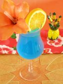Blue Tropical Drink