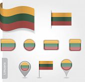 Lithuanian flag icon