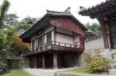 stock photo of andong  - Traditional House in The near of AndongSouth Korea - JPG