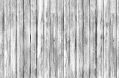 Seamless Background Texture Of Old White Wooden Boards Wall