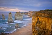 stock photo of 12 apostles  - The Twelve Apostles - JPG
