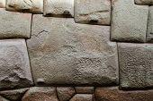 Inca stone wall
