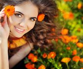 picture of marigold  - Enjoyment - JPG