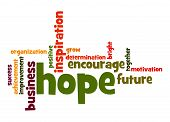 Hope Word Cloud
