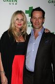 LOS ANGELES - FEB 26:  Carolin Copeland, Sebastian Copeland at the Global Green USA Pre-Oscar Event