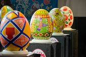 Easter Eggs At The Festival In Lvov
