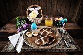 Rustic Easter Breakfast - Horizontal