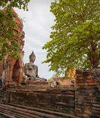 Buddha Sculpture. Thailand, Ayuthaya