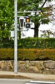 Traffic Light In Ishaya, Japan