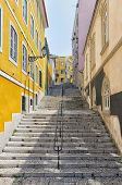 Stairway at Lisbon's Sao Bento district