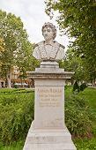 Andrea Meldolla Sculpture (1878) In Zagreb, Croatia