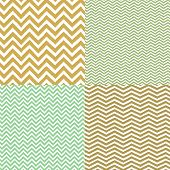 Geometric chevron seamless patterns set. Hand drawn texture