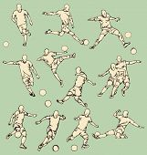 Soccer Sport Action Collection
