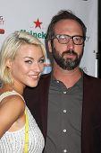 LOS ANGELES - AUG 21:  Erin Darling, Tom Green at the OK! TV Awards Party at Sofiitel L.A. on August