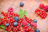 Strong antioxidants - berry fruits