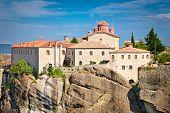 Monastery at Meteora in Trikala region, Greece.