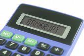 Bankrupt Calculator