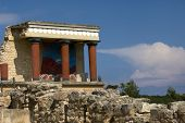 Temple At The Palace Of Knossos