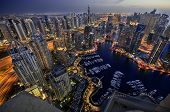 picture of duplex  - Dubai Marina at Blue hour - JPG