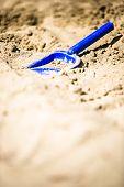Blue Shovel