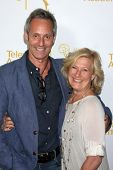 LOS ANGELES - AUG 22:  Michel Gill, Jayne Atkinson at the Television Academy�?�¢??s Producers Peer Group Reception at London Hotel on August 22, 2014 in West Hollywood, CA