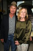 LOS ANGELES - AUG 21:  Ed Harris, Amy Madigan at the