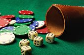 Dices  Casino Chips