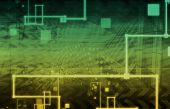 A Technology Industry Network As a Wallpaper