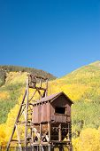 Mining Structure In Colorado Mountains